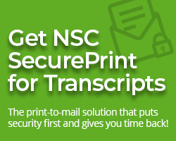 NSC SecurePrint for Transcripts