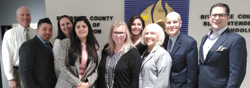 Riverside County Office of Education Committed to Student Excellence and College Readiness Through StudentTracker for High Schools Data