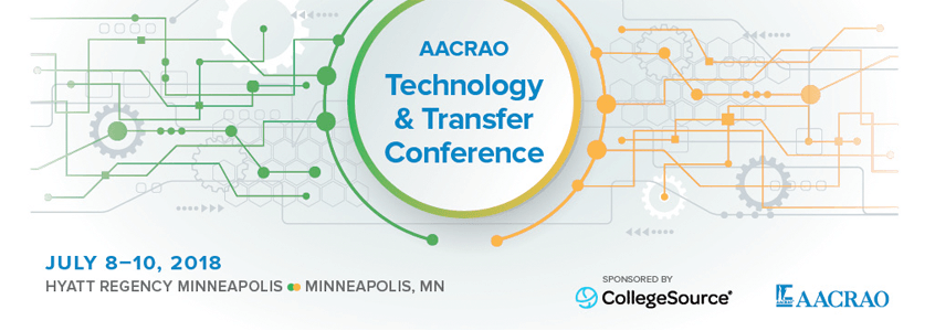 Michelle Blackwell, and AACRAO's LeRoy Rooker and William Gil, to Discuss Reverse Transfer at AACRAO Technology and Transfer Conference