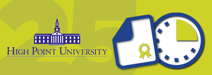 High Point University Becomes 25th College Using the Clearinghouse to Activate Ellucian eTranscripts