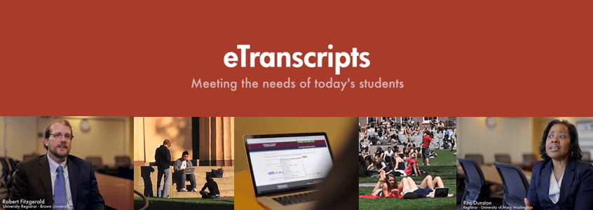 eTranscripts: Meeting the Needs of Today's Students